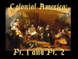 "Unit 1: ""Colonial America"" / 13 English Colonies Bundle"
