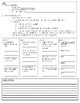 U.S. History Unit 1 Early Settlement Cornell Notes Packet