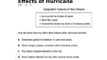 U.S. History Unit 12 (Part II):  Hurricane Katrina - 2010s