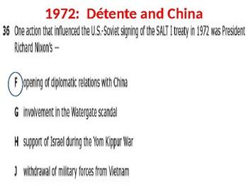 U.S. History Unit 9:  The 1970s