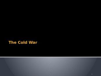 U. S. History Unit: The Cold War