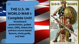 U.S. History WWI Complete Unit