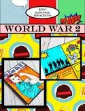 U.S. History: World War 2 - Comic Book Project