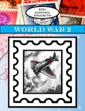 U.S. History: World War 2 - Stamp Projects