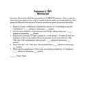 U.S. History Written Tests Bundle