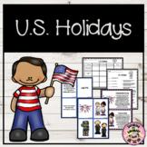 U.S. Holidays