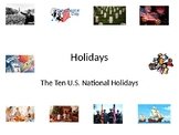 U.S. Holidays PowerPoint Presentation