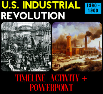 U.S. Industrial Revolution Intro Timeline Lesson