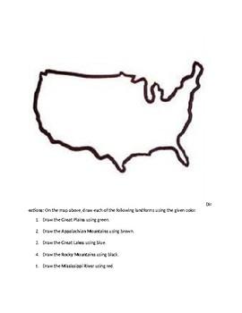U.S Landforms Quiz