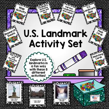 U.S. Landmark Back to School Bundle
