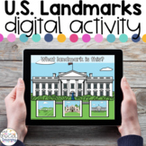 U.S. Landmarks - Digital Activity - Distance Learning for