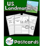 U.S. Landmarks Postcards