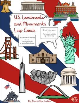 U.S. Landmarks and Monuments Loop Cards