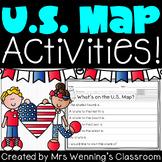 U.S. Map Activities!