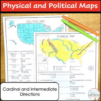 United States Map Tasks