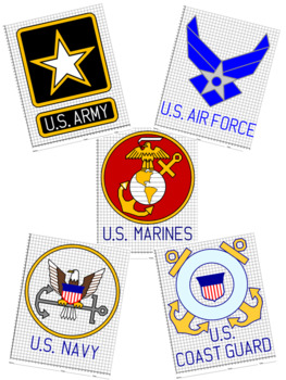 U.S. Military Logos Mystery Pictures