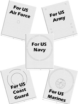 U.S. Military Logos Mystery Pictures : Distance Learning