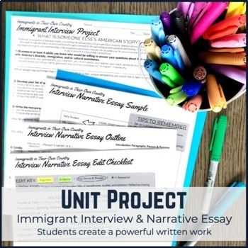 U.S. Mini PBL Unit: African American Great Migration with Interview Project