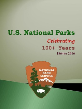 National parks worksheet teaching resources teachers pay teachers us national parks celebrating 100 yrs 1864 to 2016 sciox Images