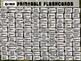 U.S. PRESIDENTS - 45 Printable front/back FLASHCARDS