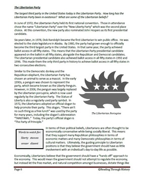 U.S. Politics: Third Parties