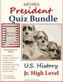 U.S. President Quiz Bundle