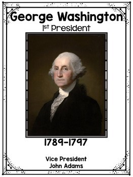 President Posters - U.S. Presidents - President's Day Bulletin Board