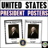 U.S. President Posters