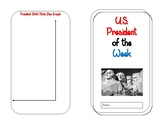 U.S. President of the Week Booklet