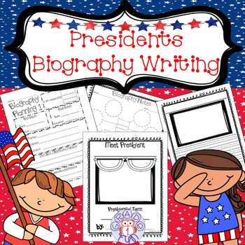 U.S. Presidents Biography Writing Project