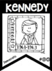 U.S. Presidents Black & White Banners for Easy Printing  Melonheadz Clipart