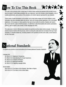 U.S. Presidents: Bush and Obama