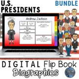 U.S. Presidents Digital Biography Template Bundle