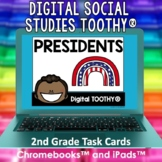 U.S. Presidents Digital Social Studies Toothy® Task Cards