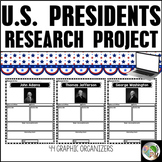 President's Day Graphic Organizers - President's Day Resea
