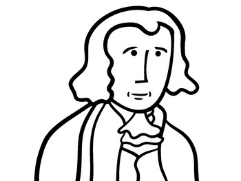 U.S. Presidents JAMES MADISON historical clip art by MB STEAD