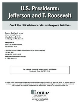 U.S. Presidents: Jefferson and T. Roosevelt