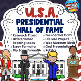 U.S. Presidents; Presidential Hall of Fame with Life Size Project and Research