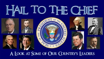 U.S. Presidents - Unit Overview PowerPoint