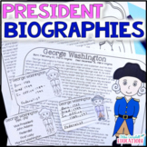 U.S. Presidents Informational Articles and Yearbook - Presidents Day!