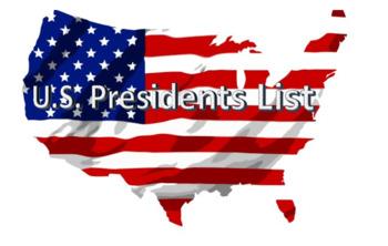 U.S. Presidents list