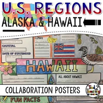 U.S. Regions - Alaska and Hawaii Collaborative Posters