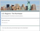 U.S. Regions Google Quizzes