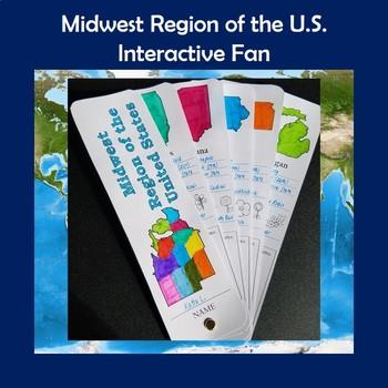 U.S. Regions Midwest Region Interactive Fan