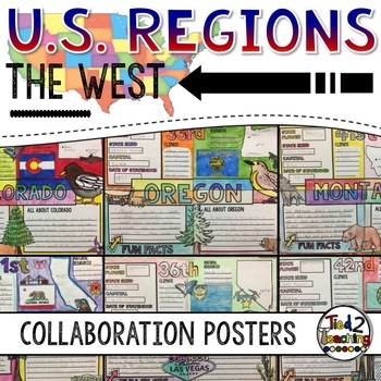 U.S. Regions - The West Collaborative Posters