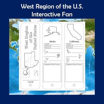 U.S. Regions West Region Interactive Fan