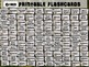 U.S. STATES - 50 Printable front/back FLASHCARDS