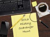 U.S. Scavenger Hunt-PowerPoint
