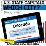 U.S. State Capitals BOOM Cards™