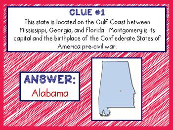 U.S. State Challenge